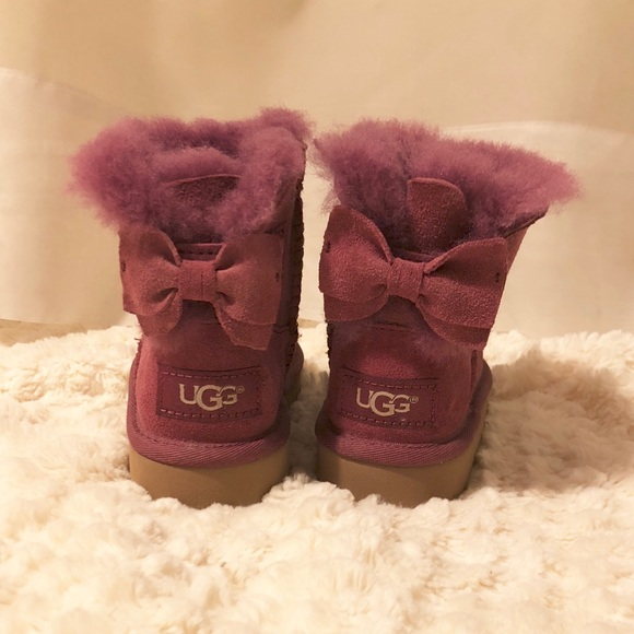 UGG Shoes | Burgundy Uggs Size 7 With